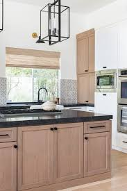 white oak wood kitchen cabinets kitchen trend wood stained and painted cabinets home