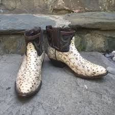 womens cowboy boots size 9 1 2 image of custom ankle rattlesnake skin cowboy boots womens size