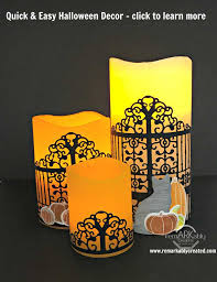 halloween decor clearance quick u0026 easy halloween decor with detailed gate thinlit from