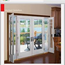 Side Door Blinds Therma Tru Vented Sidelites Patio Doors Patios And Shades Blinds