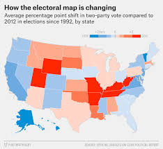 Us Election Map by How Will The Us Electoral Map Change In The Future Vote Uk Forum