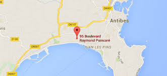 map of antibes map hotel ibis styles juan les pins