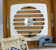 Accessories Astonishing Vintage Nutone Exhaust Fan Kitchen Not