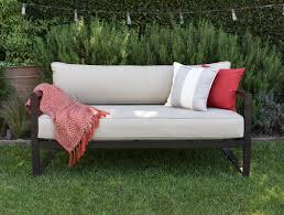 Modern Outdoor Sofa Outdoor Cushions Plan Ideas Sorrentos Bistro Home