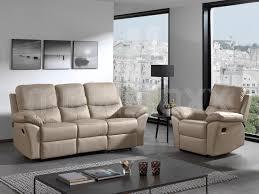 canapé cuir relax 3 places ensemble de canapés de relaxation palermo 1 3 places cuir véritable