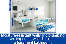 Plumbing For Basement Bathroom by You Should Totally Bookmark These Plush Basement Bathroom Ideas