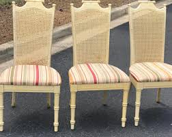 Vintage Bamboo Chairs Vintage Bamboo Chair Etsy