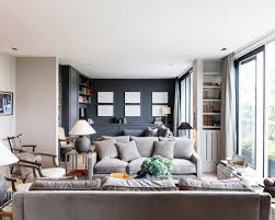 awesome grey couch living room with additional classic home