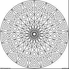 good geometric design pattern coloring pages printable with