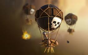 clash of clans wallpaper hd download clash of clans balloons hd 4k wallpapers in 2048x1152