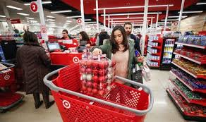 u s sales surge shoppers throng stores on thanksgiving