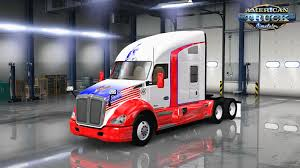 kenworth usa usa trucking skin for kenworth t800 v1 0 by truckerstas american