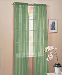 Sheer Elegance Curtains Wpm 60 X 63 Inches Sheer Window Elegance Curtains