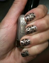 Nail Designs Cheetah Easy Cheetah Print Nail Zazen Nail Spa Chester S