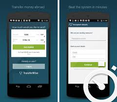 android transfer app transferwise releases an android app top apps