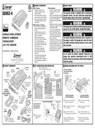 how do you install a garage door opener linear gd00z 4 installation manual battery electricity