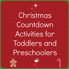 advent activities for toddlers and preschoolers fun activities