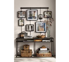 Decorating Entryway Tables Burke Console Table Pottery Barn