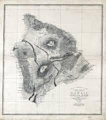 Map Of Big Island Hawaii Islandbreath Hawaiian Historic Maps