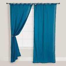 Drapes World Window Treatments Patterned Linen Voile Drapes
