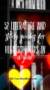 52 literature books for high schoolers in a year blessed learners