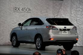 lexus two door 2010 l a autoshow new 2010 lexus rx350 and rx450h revealed it u0027s