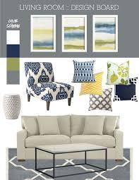 26 navy blue and green living room salas en verde y azul salas