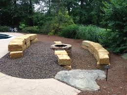 Outdoor Stone Firepits by Page Contemporary Patio With People Makeovers Fire Pit And Ideas