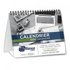 calendrier de bureau photo calendrier de bureau classique bilingue pour votre visibilité