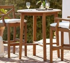 Bar Height Patio Furniture by Teak Bar Height Table Foter