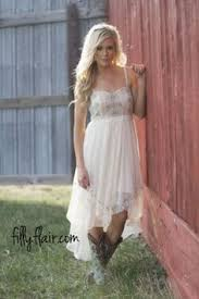 the perfect country wedding bridesmaid dress with boots