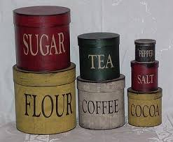 primitive kitchen canister sets 19 best primitive kitchen canisters images on kitchen