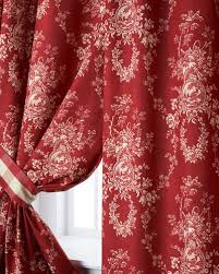 Red And Gold Damask Curtains Luxury Curtains U0026 Curtain Hardware At Neiman Marcus