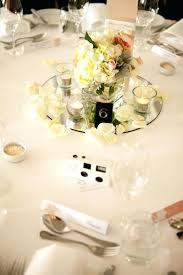 jar centerpieces for weddings mirror centerpiece with single flower arrangements photo by studio