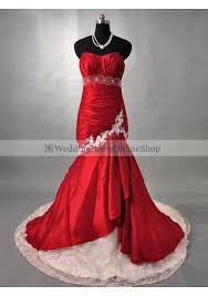 Sell Wedding Dress Wedding Dress Online Shop Taffeta Mermaid Wine Red And Lace