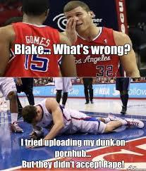 Blake Griffin Memes - blake griffin dunk rape basketconcarisma