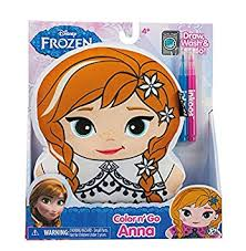 amazon disney frozen inkoos color create anna drawing plush