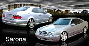mercedes clk coupe custom mercedes clk kit sarona