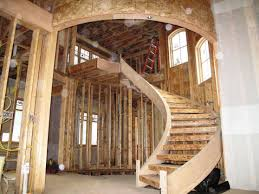 decor rustic wood spiral staircase for sale for cozy home