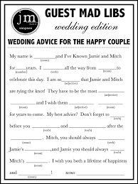 wedding mad libs template 7 best images of wedding mad libs printable wedding mad