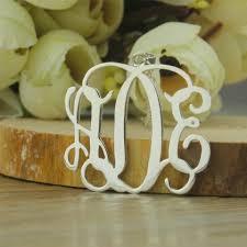 cheap monogram necklace cheap monogram necklace single hooks silver monogram jewelry 3