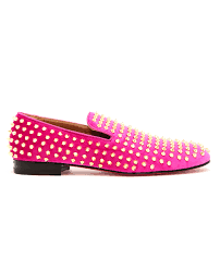 christian louboutin studded round toe loafers louboutin loafers