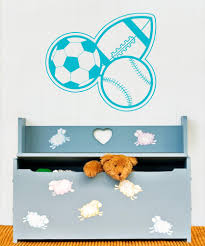 sports wall stickers sports decals for walls stickerbrand vinyl wall decal sticker football baseball soccer os aa176