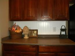 popular brown mahogany cabinets feat ideas with wainscoting
