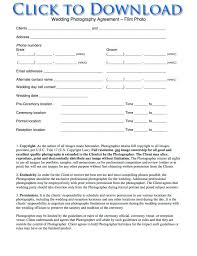 wedding vendor contract template eliolera com