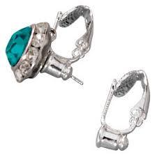 clip on earring converter pierced earring converter 6 pair walmart