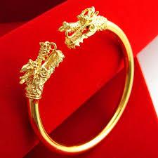 new tap 24k gold bracelet 999 domineering models