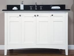 48 single sink vanity with backsplash top beach style bathroom vanity bathroom vanity shaker white beach