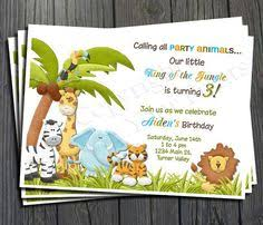 Jungle Birthday Card Hey I Found This Really Awesome Etsy Listing At Https Www Etsy