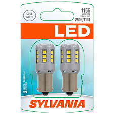 osram sylvania led premium miniature light bulb white 6000k 1156